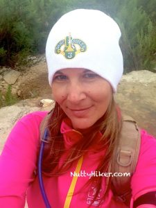 Hiking In Texas in below 70 weather requires cold weather gear!