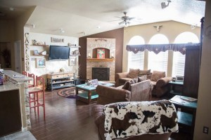 New Family Room layout