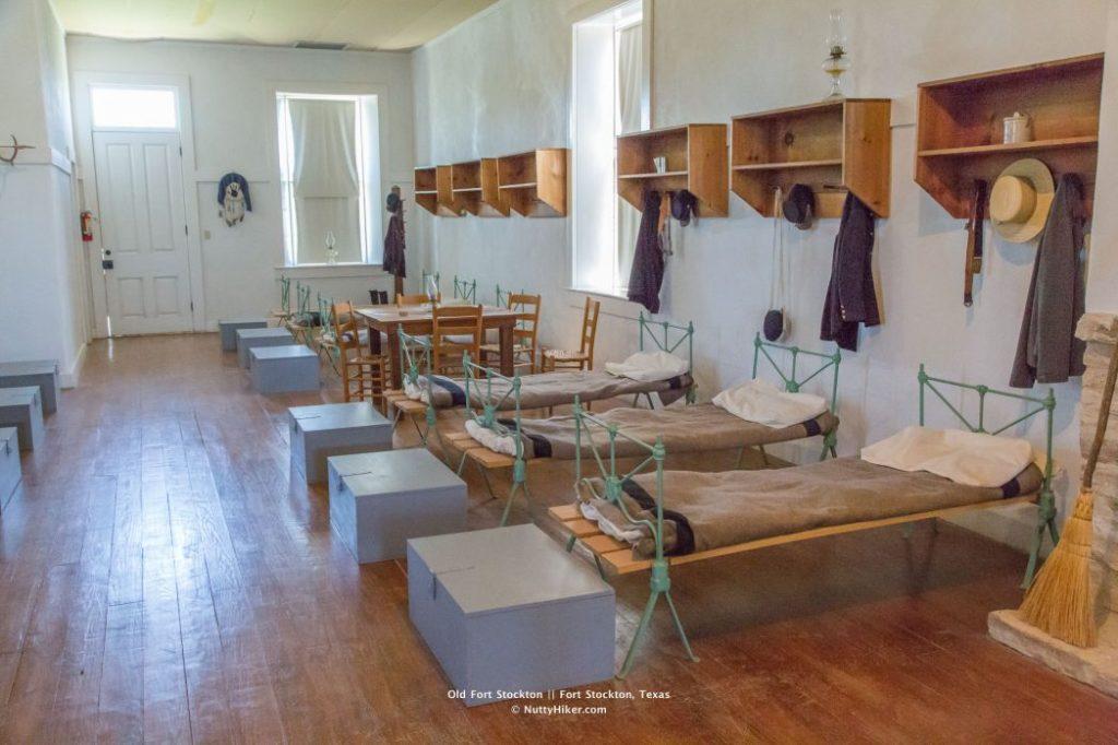 Old Historic Fort Stockton Enlisted Men's Barracks