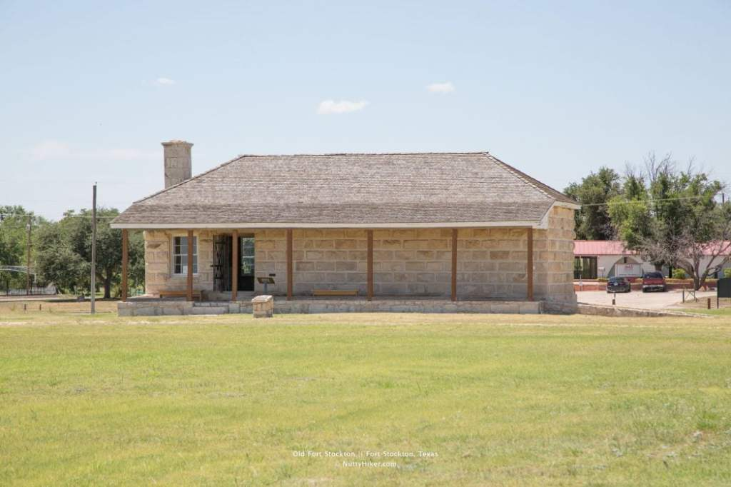 Old Fort Stockton Guard House