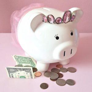 Piggy Bank, Savings, Discounts