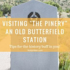 The Pinery Nature Trail & Butterfield Station | Guadalupe Mountains Nat'l Park