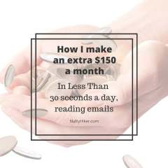 How I make $150 extra a month by reading emails!