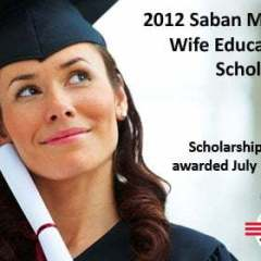 Saban Military Wife Educational Scholarship