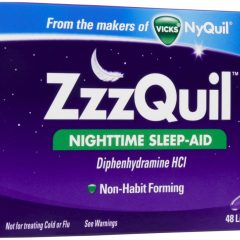 ZzzQuil. Not for Pain, Just For Sleep