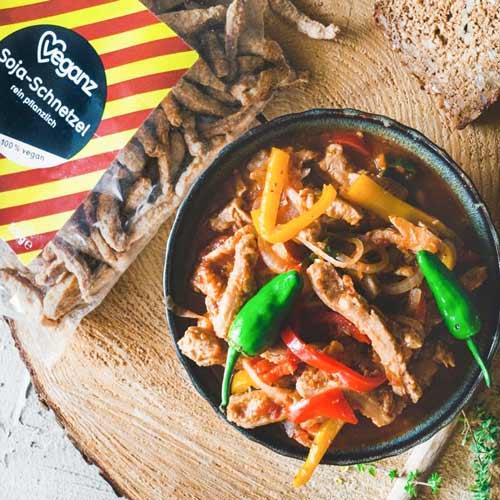 vegansk kylling køb soya bites veganz