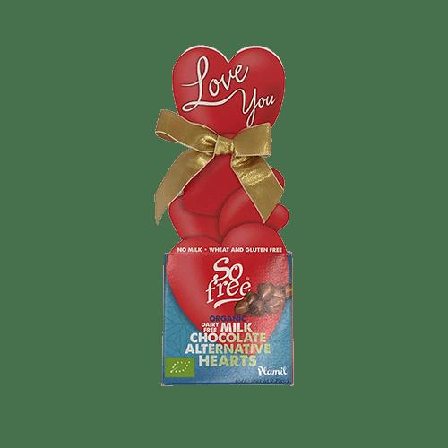 vegansk valetinsdagsgave chokolade - vegansk gaveæske køb