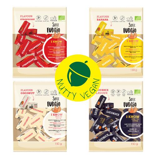 veganske karameller køb - super fudgio karameller danmark