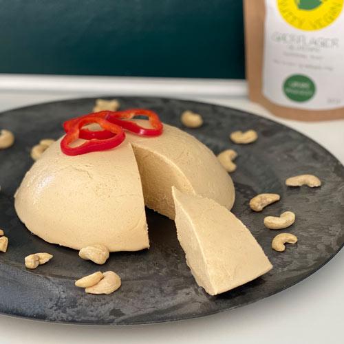 vegansk ost opskrift med nutritional yeast