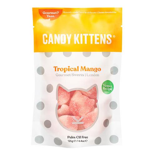 Vegansk vingummi candy kittens tropical mango