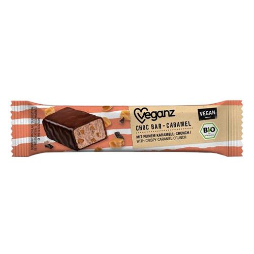 vegansk mars bar - veganz chokoladebar med karamel