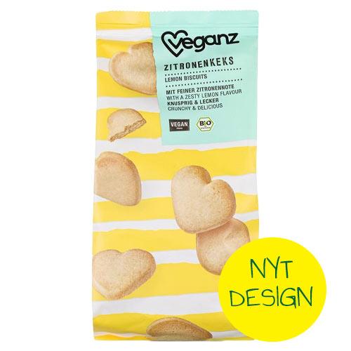 veganske kiks køb - veganske småkager veganz -lemon