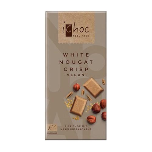 ichoc chokolade - hvid vegansk chokolade køb