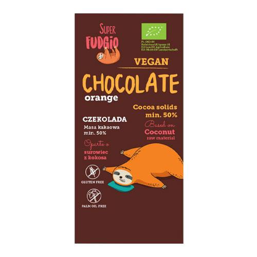 Vegansk orangechokolade - vegansk juleslik