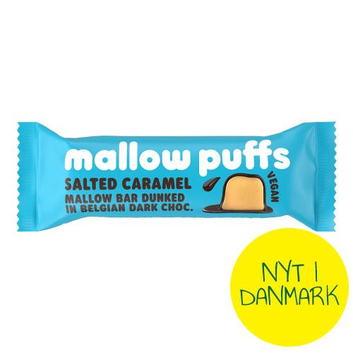 mallow puffs salted caramel bar køb i Danmark