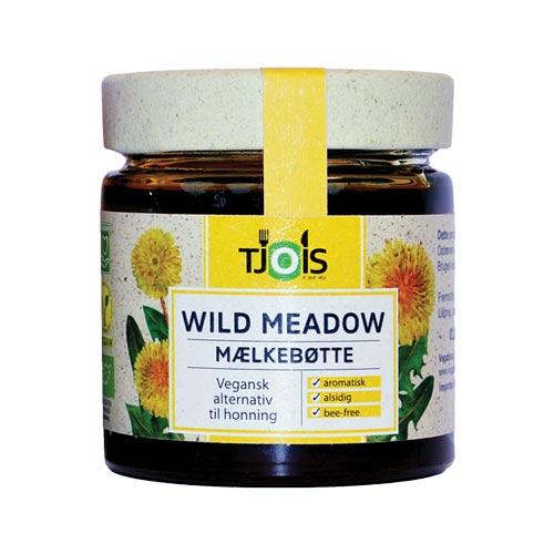 vegansk honning køb - wild meadow honning af mælkebøtter