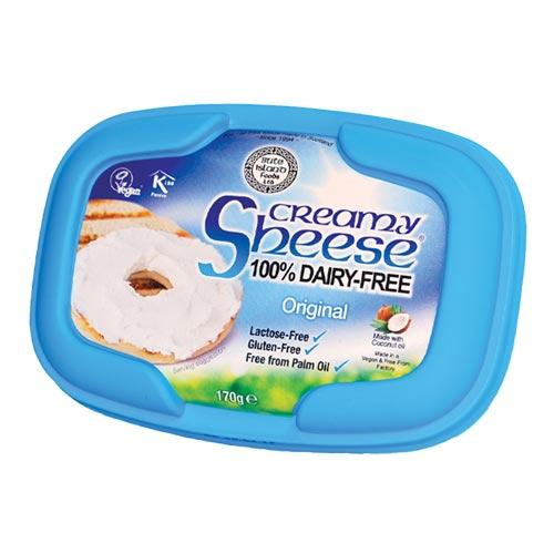 vegansk smøreost køb online - creamy sheese naturel