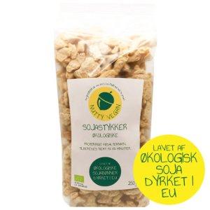 soya kød køb online - økologiske soyastykker nutty vegan