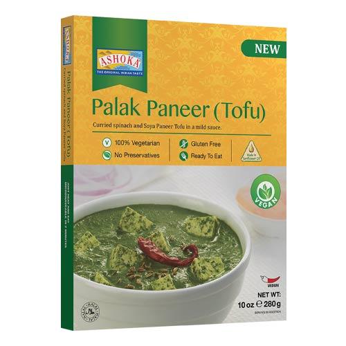 vegansk færdigret køb - palak paneer med tofu