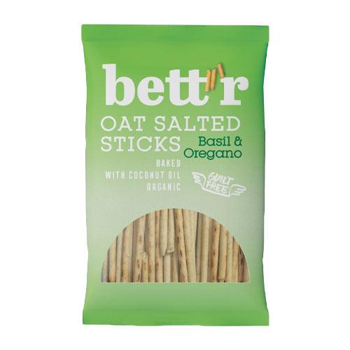 bettr havresticks - veganske snacks - veganske chips