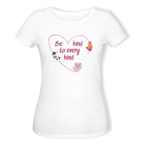 veganer tøj køb online - vegansk t-shirt