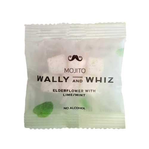 wally and whiz flowpack køb - vegansk vingummi - mojito