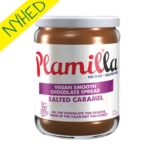 vegansk nutella alternativ - plamilla salted caramel - so free nutella