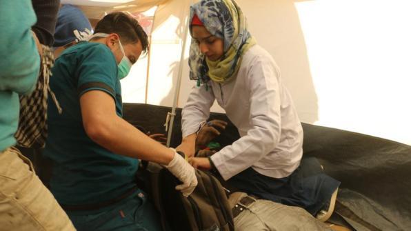 palestinian paramedic