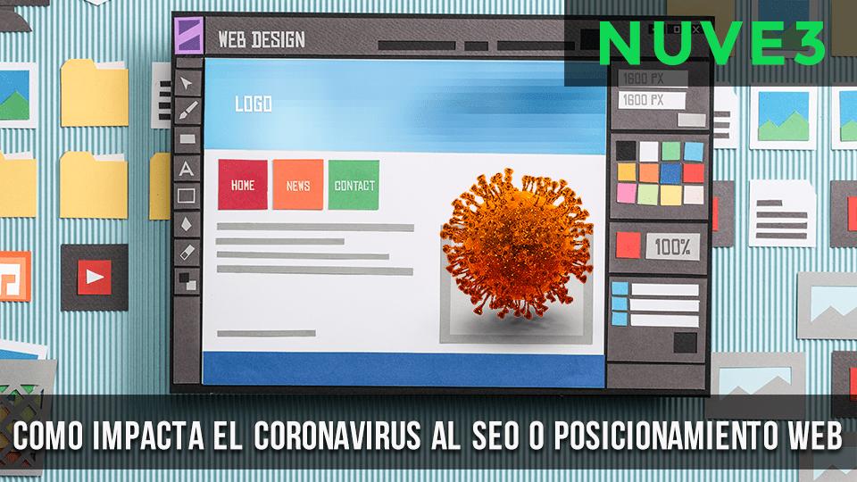 ¿Cómo impacta el coronavirus al SEO?