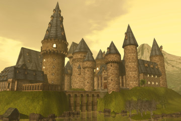 Hogwarts: your story! in Second Life