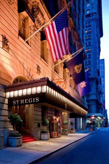 St Regis New York  NUVO