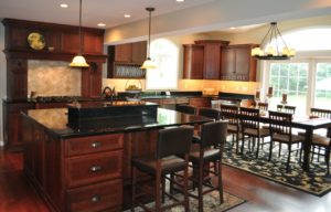 photo of custom kitchen cabinets and countertops calgary