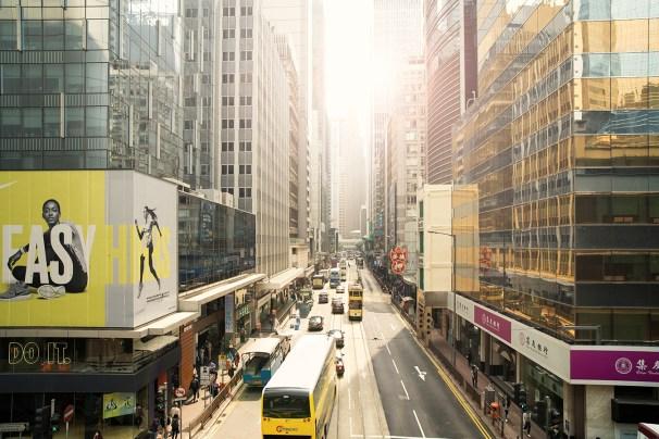 Hongkong Citylife Fine Art Print