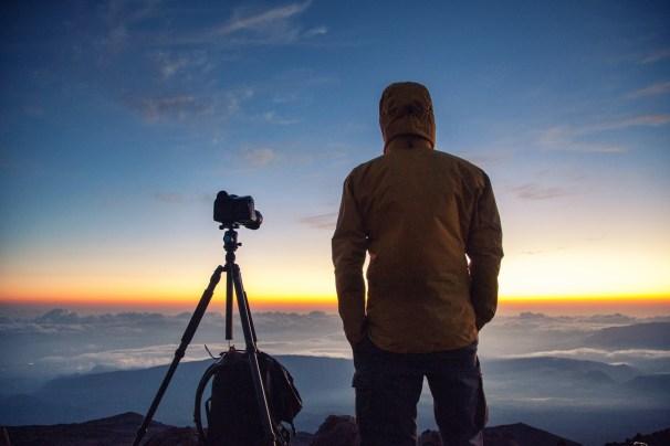 La Reunion Sonnenaufgang Wanderung zum Piton des Neiges