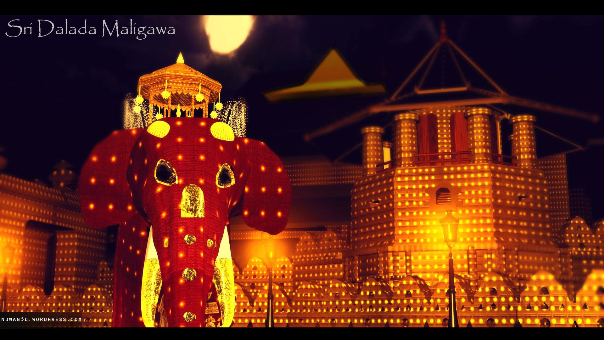 Www 3d Name Animation Wallpaper Com Sri Dalada Maligawa My First 3d Work Year 2009 Nuwan 3d