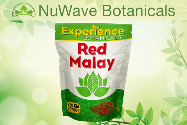 nuwave products experience botanicals red malay 250gm