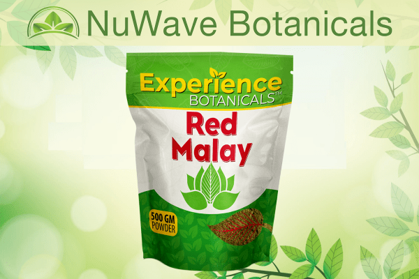 nuwave products experience botanicals red malay 500gm