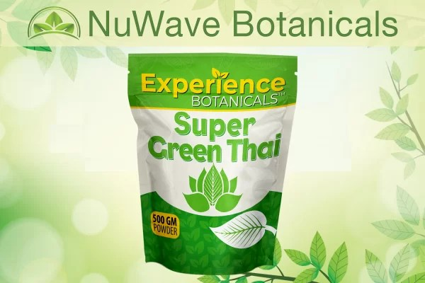 nuwave products experience botanicals super green thai 500gm
