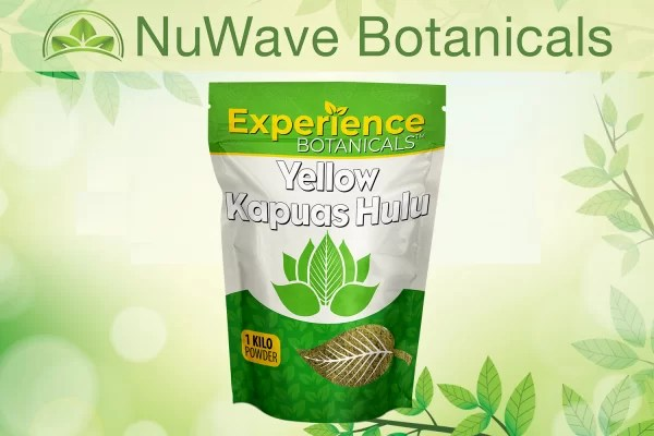 nuwave products experience botanicals yellow kapuas hulu 1kg