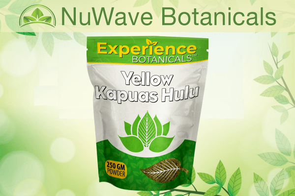 nuwave products experience botanicals yellow kapuas hulu 250gm