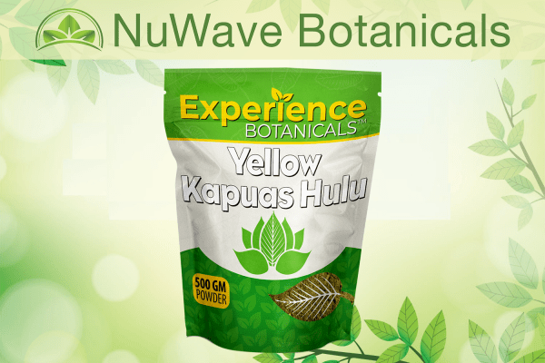 nuwave products experience botanicals yellow kapuas hulu 500gm