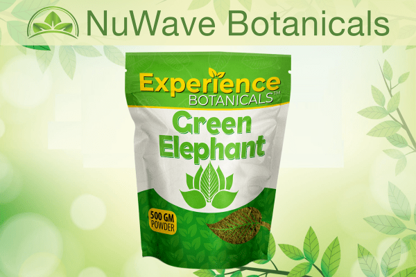 nuwave products experience botanicals green elephant 500gm 1