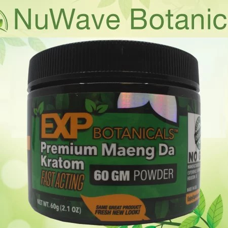 products exp botanicals jars premium maeng da powder 60gm
