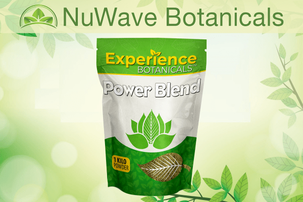 nuwave products experience botanicals power blend 1kg