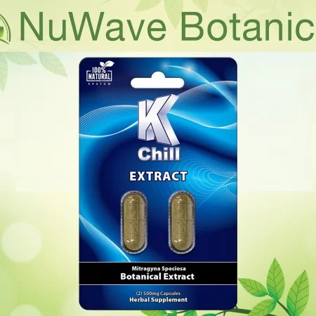 nuwave products k chill kratom extract 2ct