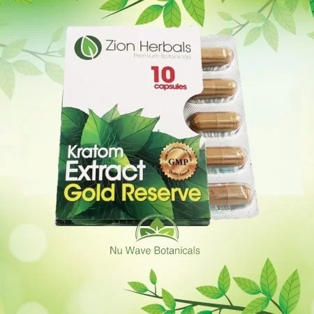 Zion herbals Gold Reserve 10 capsules