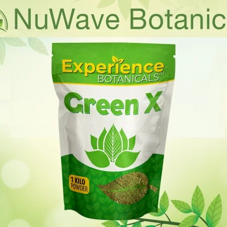 nuwave products experience botanicals green x 1kg