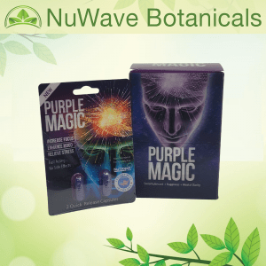 Purple Magic Capsules Social Lubricant Happiness Mental Clarity