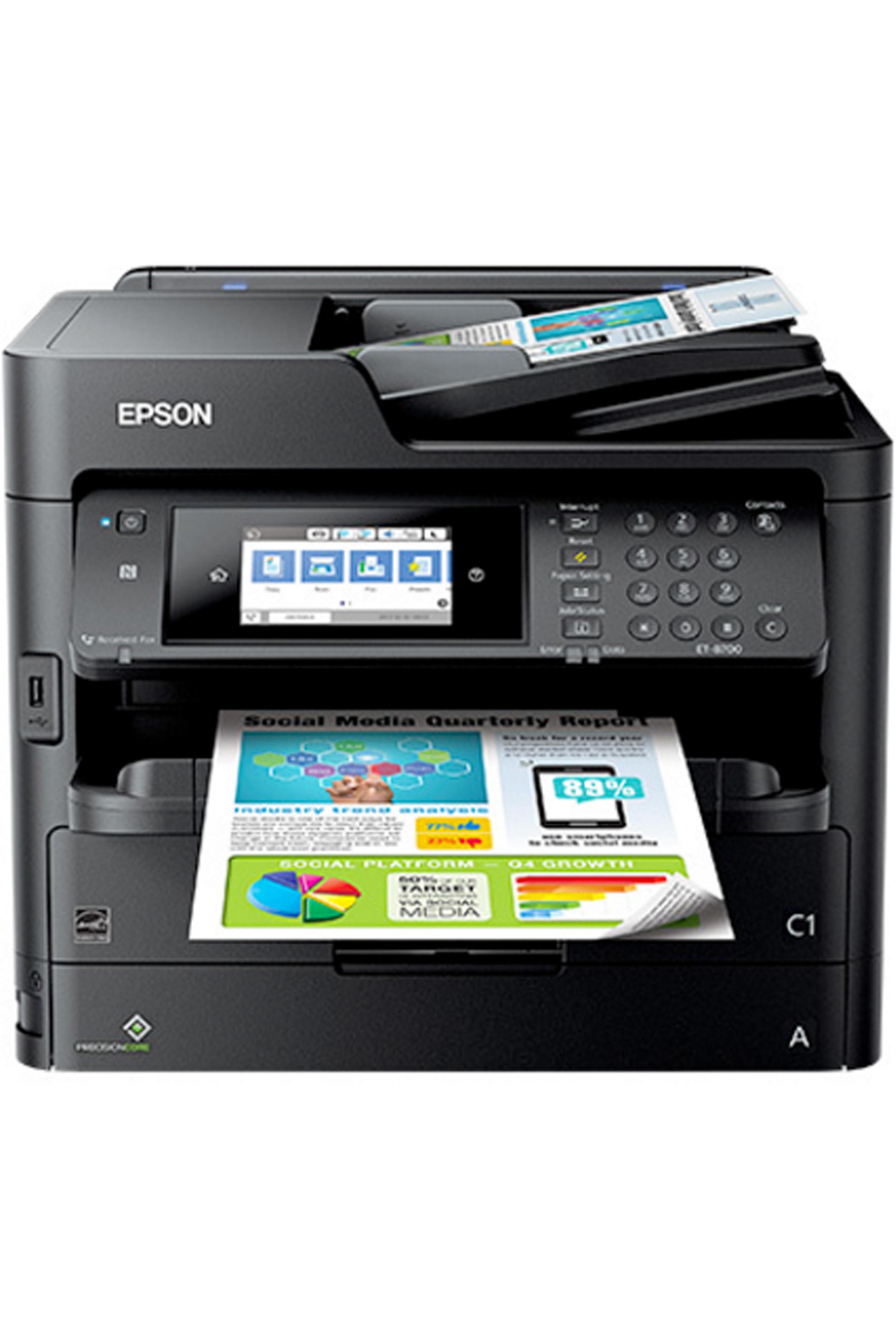 Epson Et 8700 Printer Driver : epson, printer, driver, WorkForce, ET-8700, EcoTank, All-in-One, Supertank, Printer, (24/24ppm)