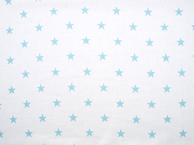 Nuwzz Tablecloth White Pale Sky Blue Stars Table Cloth Table